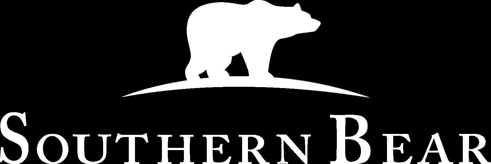 SOUTHERN BEAR LOGO WHITE